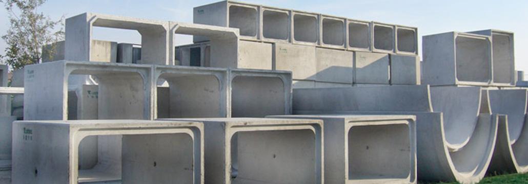 Scatolari in cemento - Pref.ti Lucchese srl