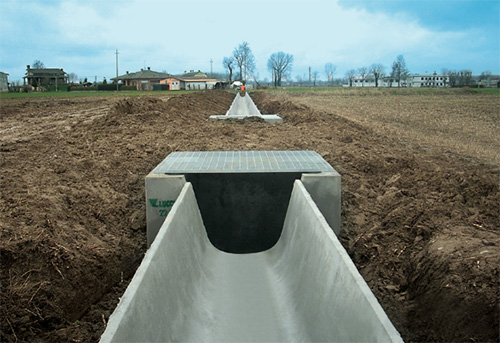 Pozzetti canalette irrigazione - Pref.ti Lucchese srl